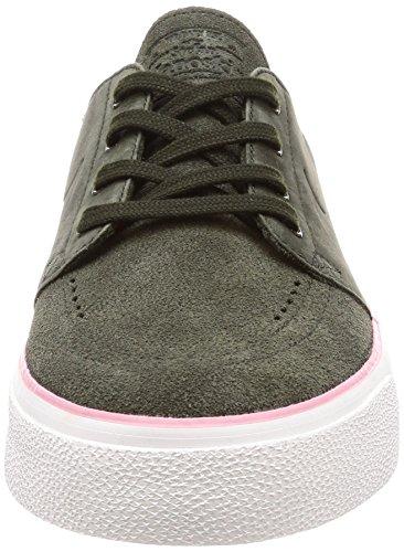 Nike Mens Sb Zoom Janoski Ht Scarpa Da Skate Sequoia / Sequoia / Rosa Elementale
