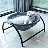 JUNSPOW Cat Bed Dog Bed Pet Hammock Bed Free-Standing Cat Sleeping Cat Bed Cat Supplies Pet Supplies Whole Wash Stable…