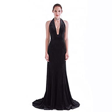 Amazon France Cg Womens Slimming Black V Neck Long Sleeveless