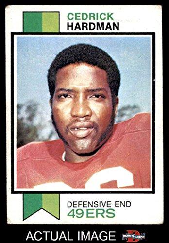 1973 Topps # 412 Cedrick Hardman San Francisco 49ers (Football Be honest) Dean's Cards 3 - VG 49ers