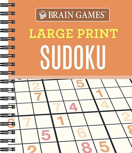 Brain Games Large Print Sudoku pdf