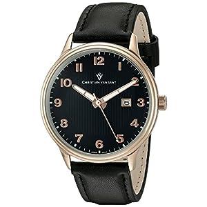 Christian Van Sant Men's 'Montero' Quartz Stainless Steel Casual Watch (Model: CV9812)
