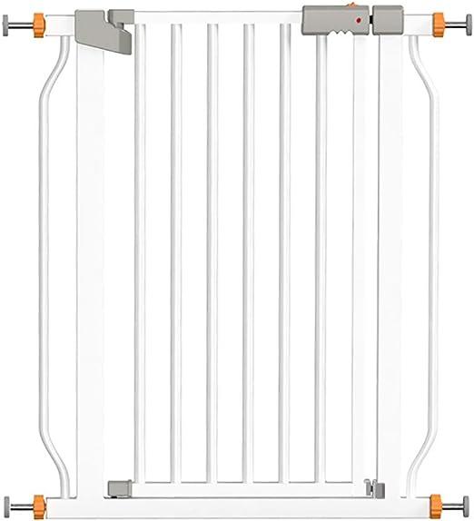 Barreras para puertas y escaleras Puerta de seguridad para niños - Perforación gratuita - Altura 103 cm - instalada en la puerta de la escalera / cocina - puerta de aislamiento para bebés / mascotas -: Amazon.es: Hogar