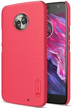 alsatek – Carcasa Protección de plástico para Motorola Moto x4 Rojo: Amazon.es: Electrónica