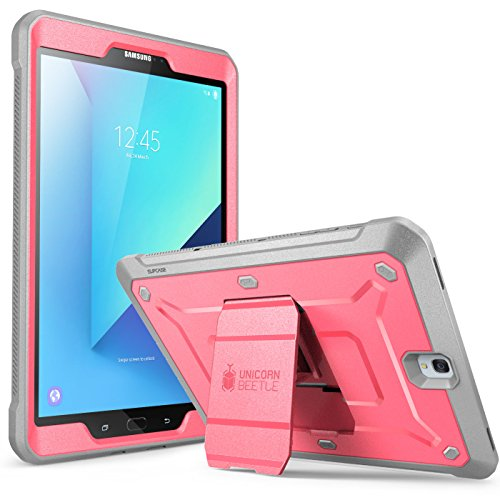 SUPCASE Galaxy Tab S3 9.7 Case Unicorn Beetle Pro Series Full-Body Rugged with Built-in Screen Protector, Pink/Gray (SUP-Galaxy-TabS3-9.7-UBPro-Pink/Gray)