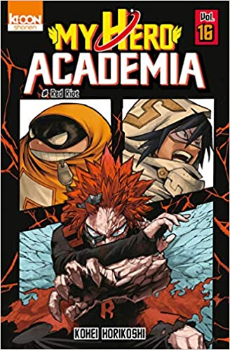 My hero academia n° 16