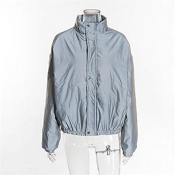 Amazon.com: Reflective Jacket with Hoodie Women High ...
