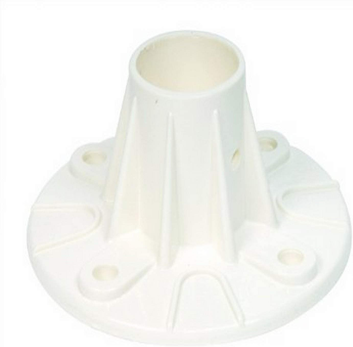 S.R. Smith 05-623 Plastic Deck-Mounted Flange, Single
