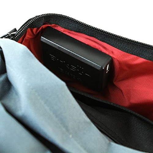 BirkSun Connect Solar Battery Charger Messenger Pack, Black and Red by BirkSun (Image #8)