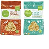 Simple Truth Organic Himalayan Salted Caramel and Creamy Ranch Mini Rice Cakes Combo Pack