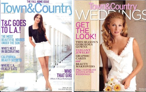 Wedding Old Style Wrappers - Town & Country Magazine (October, 2010)