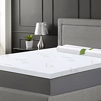 Amazon Com Langria 3 Inch Queen Memory Foam Mattress