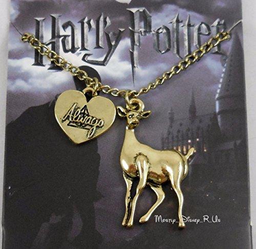 Harry Potter Animagus Patronus  Deer & Always Necklace