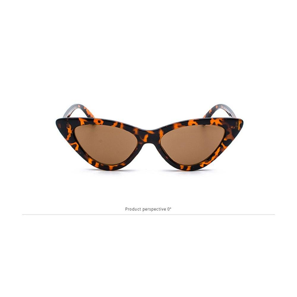 Bianco AOLVO Montatura Occhiali da Sole Donna Uomo Occhio di Gatto AolvoOcchiali da Sole Non-intensit/à A Triangolo Serie Cat Eye Occhiali Retro Resistenti alla personalit/à