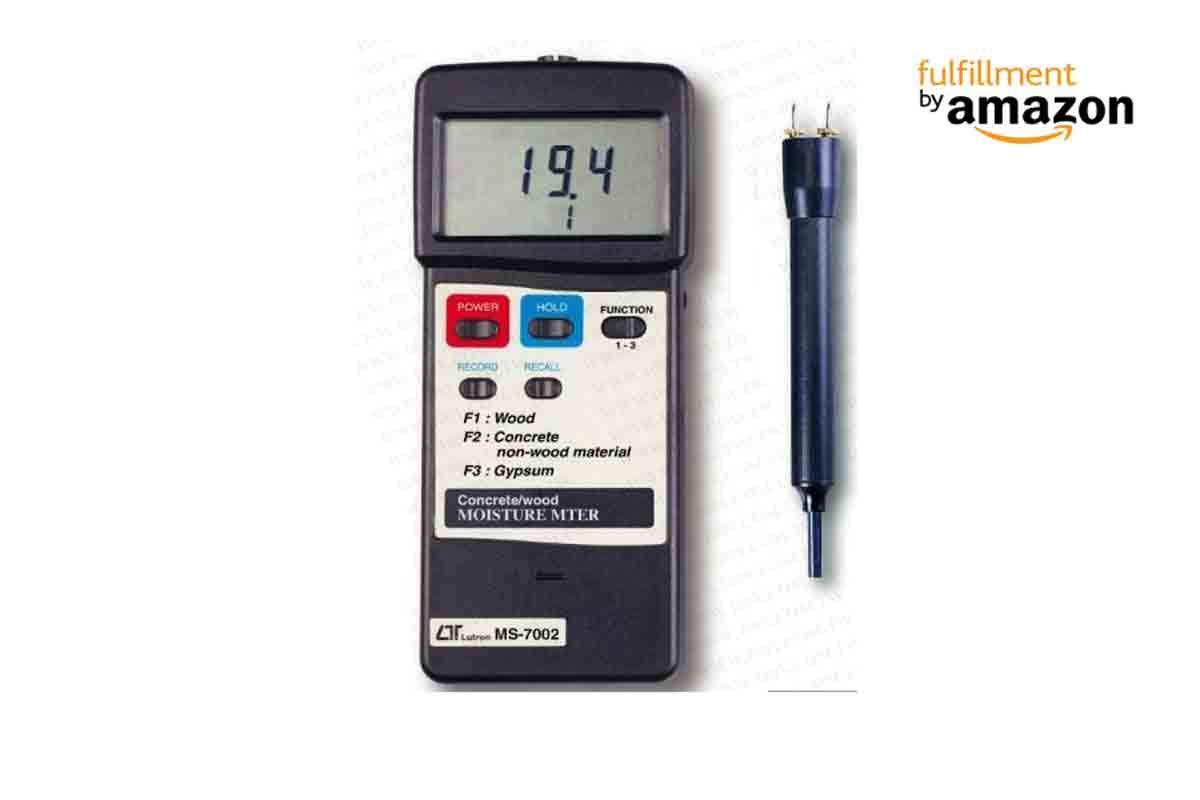 Lutron ms-7002 electrónico hormigón y madera medidor de humedad ...