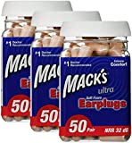 Mack's Ear Care Ultra Soft Foam Earplugs myHEIc, 150 Pair