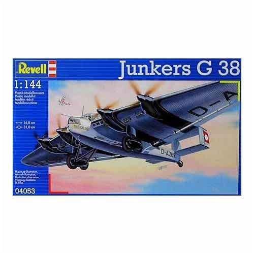 ドイツレベル ドイツレベル ユンカース G-38 (1/144スケールプラモデル) R04053 B000GWVIRG