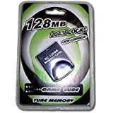 Game Cube & Wii Memory Card 128 MB for Nintendo Wii and GameCube by Mario Retro
