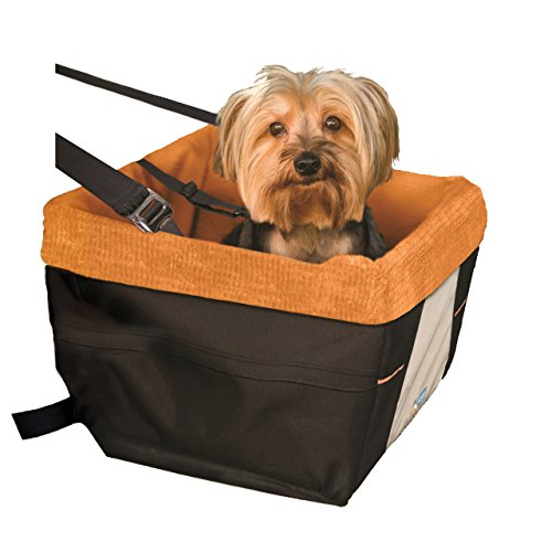 Travel Harness Dog (Kurgo Skybox Dog Booster Seat for Cars and Dog Car Seat with Dog Seat Belt Tether)