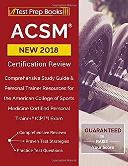 acsm new 2018 certification review comprehensive study guide rh amazon com CPT Codes 2013 MRI CPT Codes List