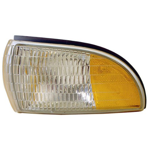 1991-1996 Chevrolet/Chevy Caprice & Buick Roadmaster Station Wagon, 1994-1996 Impala Corner Park Light Turn Signal Marker Lamp (Dual Bulb Type) Left Driver Side (1991 91 1992 92 1993 93 1994 (Chevy Caprice Station Wagon)