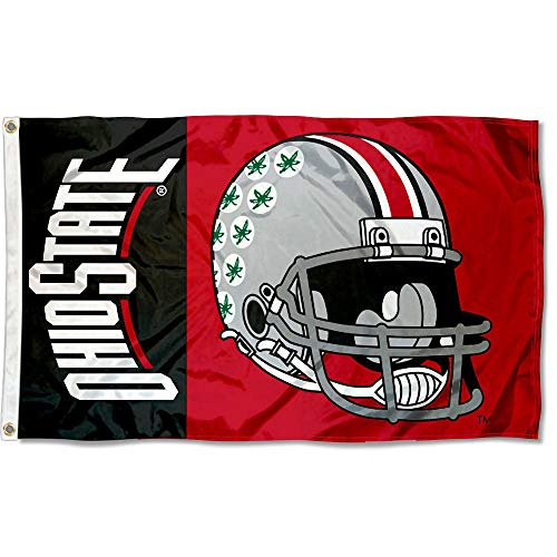 - College Flags and Banners Co. Ohio State Buckeyes Football Helmet Flag