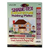 Melissa & Doug Scratch Art Shade-Tex Rubbing Plates - Architecture Drawing Set