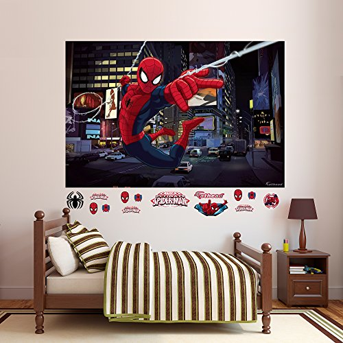 Fathead Ultimate Spider-Man Mural Real Big Wall Decal