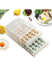 60 roosters eierbox opbergbox lade type PP transparante koelkast box eieren container