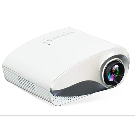 Casa portátil LED Mini Micro proyector HD con Interfaz de TV HDMI ...