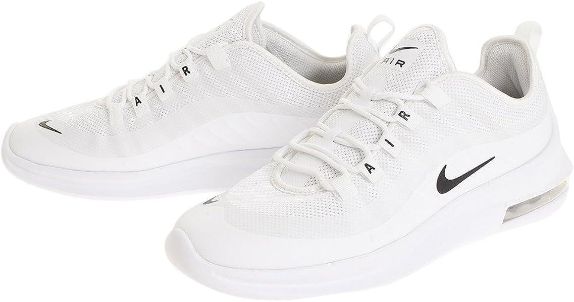 Nike AA2146-100 - Zapatillas de Material Sintético para Hombre Blanco Blanco /Negro