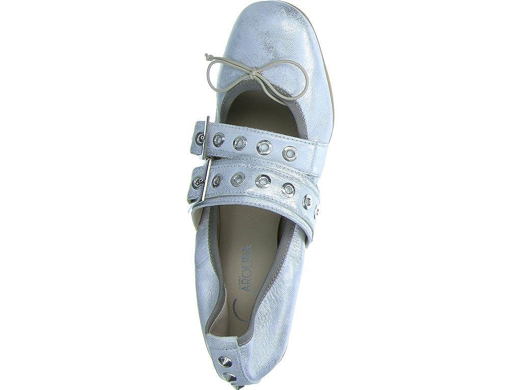 Damenschuhe Carolina Damen Damen Damen Ballerinas 3349 33494151 Silber 285220 Silber 9d588d