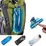 fart bottle opener - Iusun Foldable Drinking Water Bottle Bag Pouch Outdoor Hiking Camping Water Bag Protable (Blue)