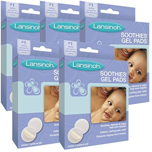 Lansinoh Laboratories Soothies Gel Pads, 10 Count by Lansinoh