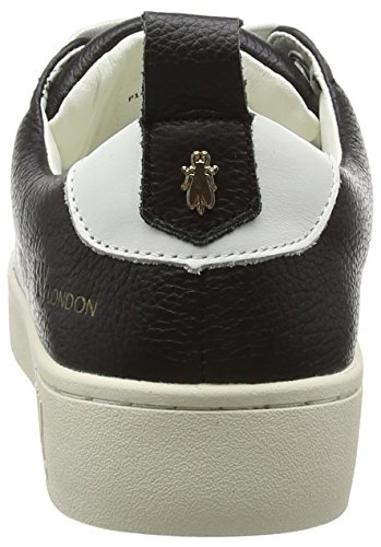 Fly London Kvinna Maco833fly Sneaker Svart Läder