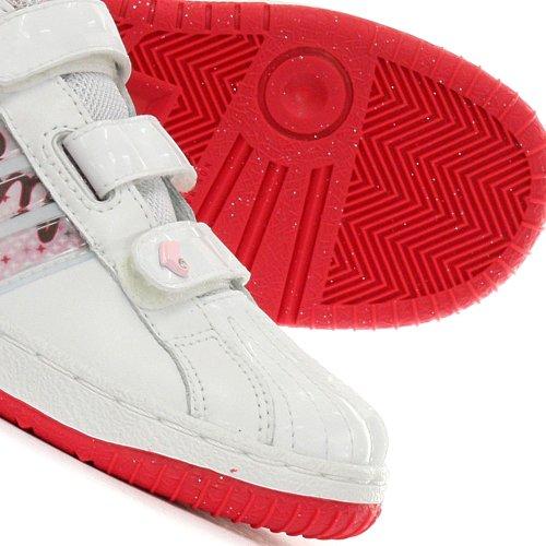 Adidas, Sneaker bambine Multicolore bianco/rosa