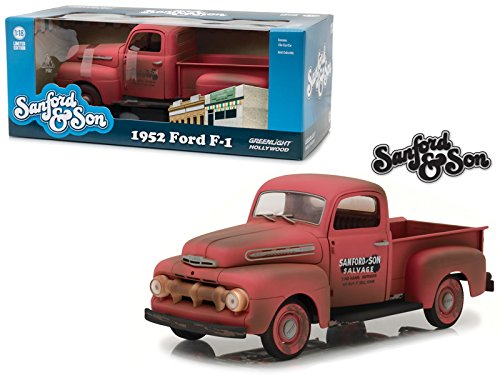"1952 Ford F-1 Pickup Truck ""Sanford & Son"" TV Series 1/18 Diecast Model Car by GreenLight12997"