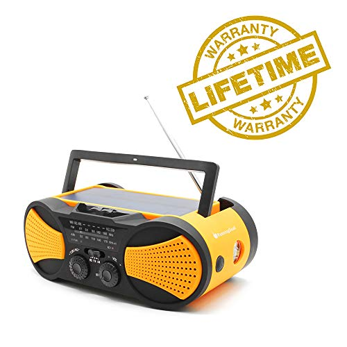 Crank Radio, NOAA Weather Radio, Audio Speaker,