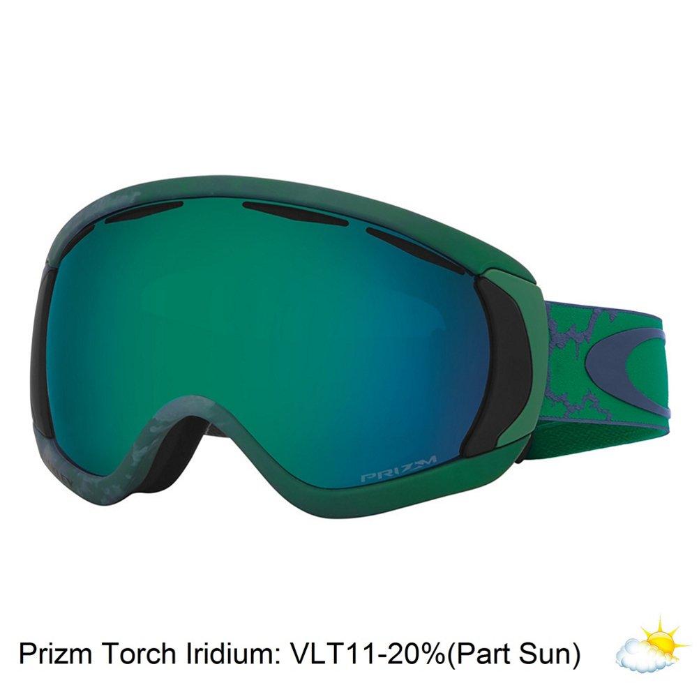 3980e550c786 Oakley Canopy Snow Goggles One Size Chemist Jade Green ~ Prizm Jade Iridium   Amazon.co.uk  Sports   Outdoors