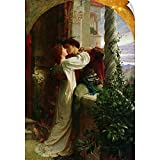 CANVAS ON DEMAND Sir Frank Dicksee Wall Peel Wall Art Print Entitled Romeo and Juliet, 1884 16'x24'