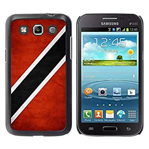 Slim Design Hard PC/Aluminum Shell Case Cover for Samsung Galaxy Win I8550 I8552 Grand Quattro National Flag Nation Country Trinidad and Tobago / JUSTGO PHONE PROTECTOR