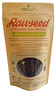 Organic Certified Black Quinoa. 1 Pack, 2 Lbs,