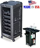 D1 Salon SPA Cart Trolley Rollabout wAppliance holder non Lockable Made in USA