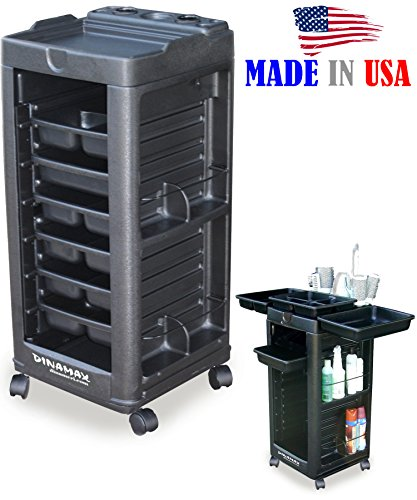 D1 Salon SPA Cart Trolley Rollabout wAppliance holder non Lockable Made in USA by Dina Meri