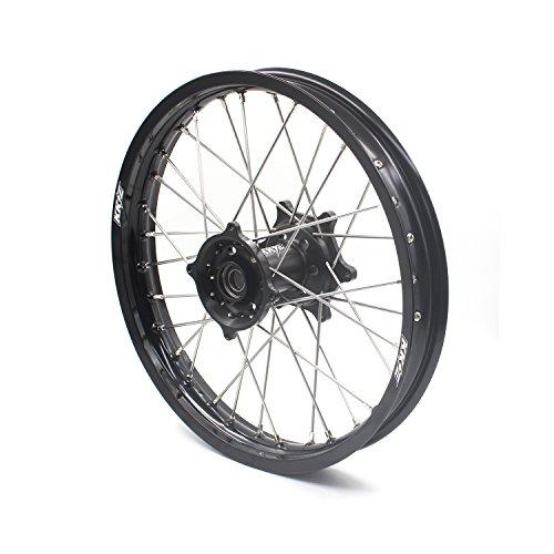 KKE HONDA MX CNC Wheel 21/19 CRF450R 02-12 CRF250R 04-13 Black Hub by KKE (Image #8)