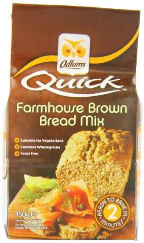- Odlums Irish Farmhouse Bread Mix 450 g (Pack of 5)