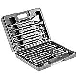 bosch 1 1 8 rotary hammer - XtremepowerUS 17 Pc Drill Bits & Chisel Sds Plus Rotary Hammer Bits Set