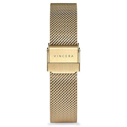 Vincero-Luxury-Womens-Eros-Wrist-Watch-with-a-Mesh-Watch-Band--38mm-Analog-Watch--Japanese-Quartz-Movement