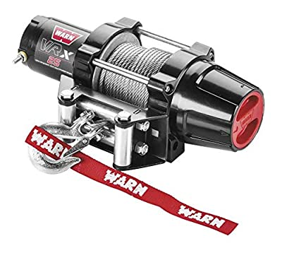 New Warn VRX 2500 lb Winch & Model Specific Mount - 2011-2016 Polaris Sportsman 500 HO ATV
