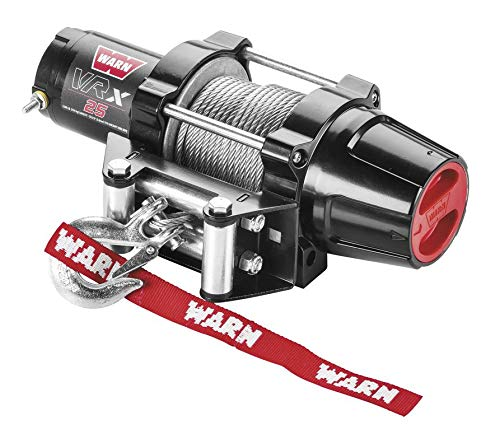 New Warn VRX 2500 lb Winch & Model Specific Mount - 2016-2018 Yamaha 700 Grizzly 4x4 ATV